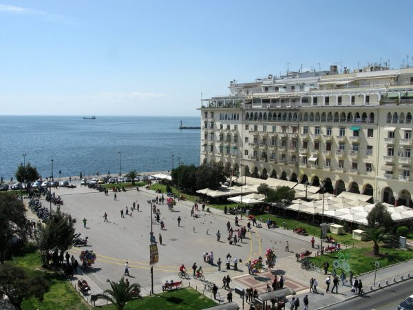 Aristotle Square, Thessaloniki, Greece