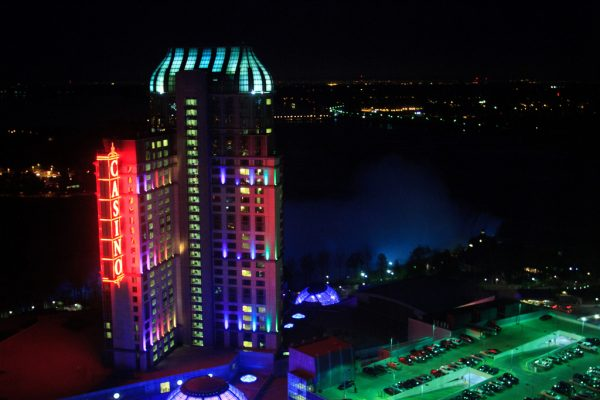 Fallsview Casino at Night