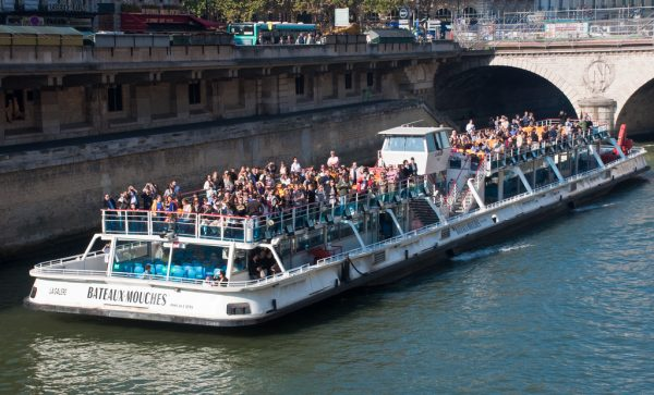 Seine river cruise, Paris, 26 Sept. 2009