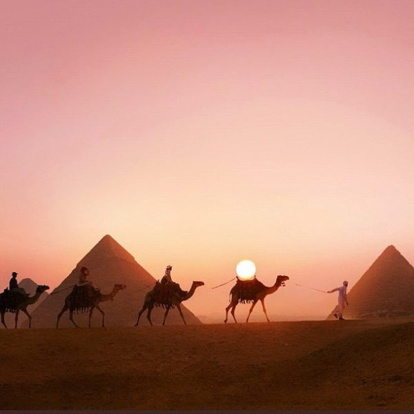 The Giza Necropolis is an archaeological site on the Giza Plateau, on the outskirts of Cairo, Egypt. #landmark #cairo #egypt #landmarks #architecture #pyramids #giza