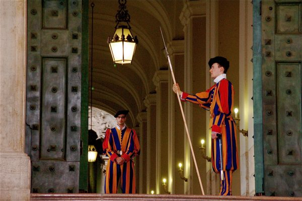 The Vatican-papal guards