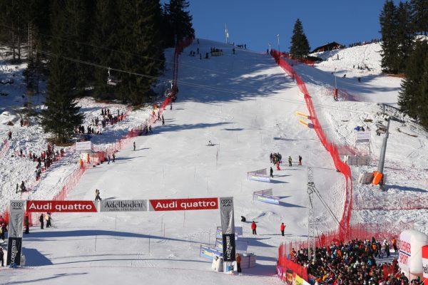 Skiweltcup Slalom in Adelboden