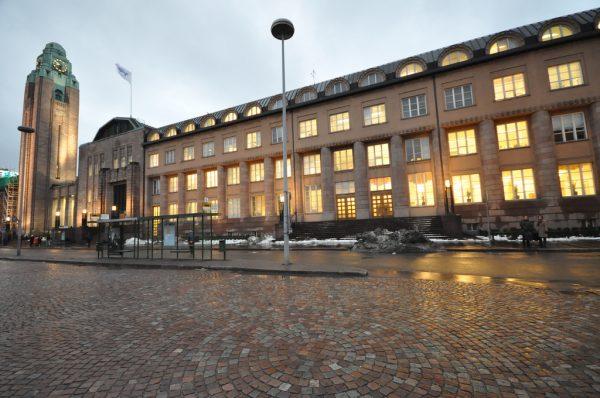 Helsingin rautatieasema (Helsinki Central railway station)