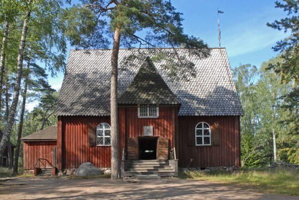 """Karuna Church"", musée de Seurasaari (Helsinki)"