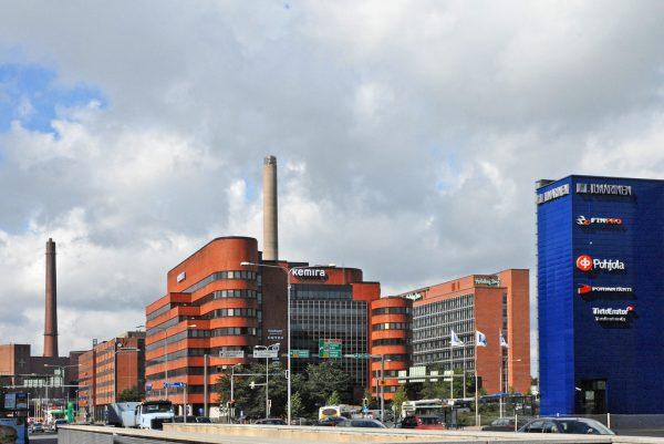 Le quartier Ruoholahti (Helsinki)