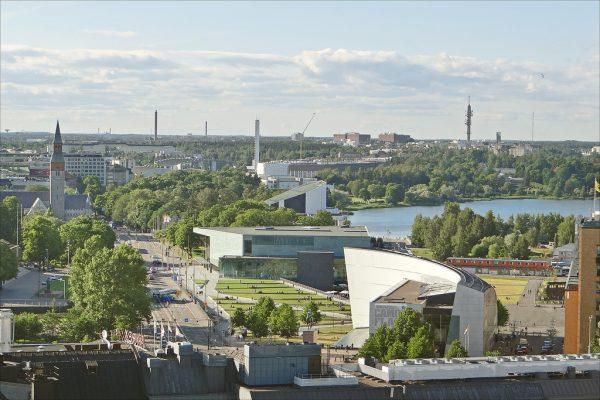 Le quartier culturel de Töölönlahti (Helsinki)